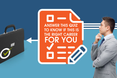 Answer this quiz to know if this is the right career for you.