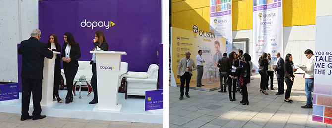 Dopay-Ousta1 Jobzella & PDF Employment Fair| 50 Participated Companies and Hundreds of Job Opportunities.