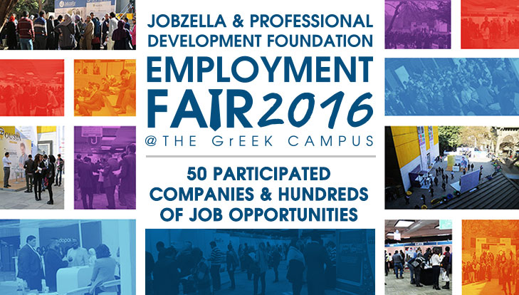 Jobzella & PDF Employment Fair| 50 Participated Companies and Hundreds of Job Opportunities.