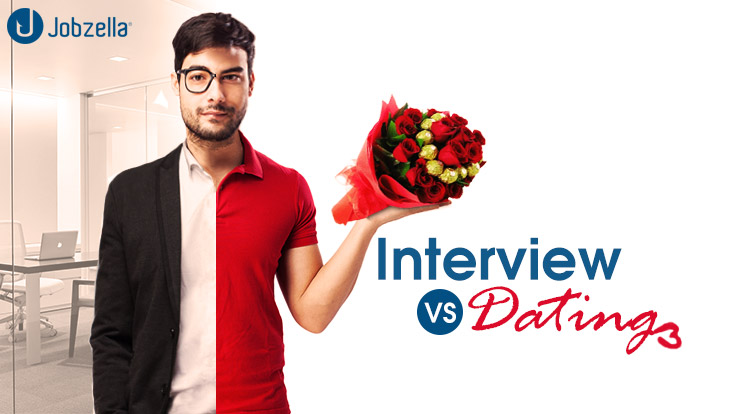 dating like a job interview does internet dating sites work
