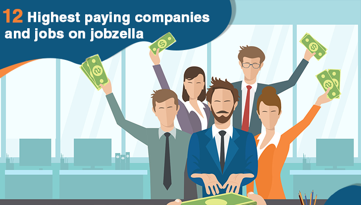 12 Highest paying companies and Jobs on Jobzella