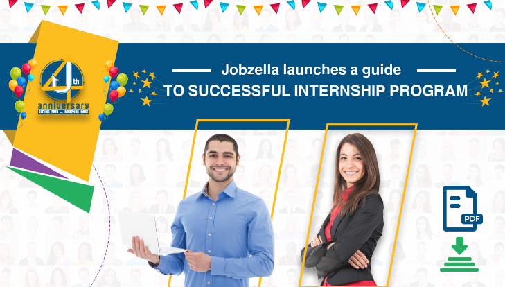 Jobzella Launches A Guide to a Successful Internship Program!