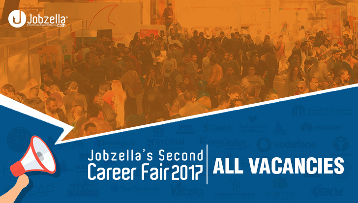 Jobzella's Second Career Fair- All Vacancies