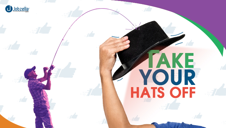 Take your Hats-Off! Right way!