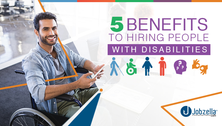 5 Benefits To Hiring people With Disabilities