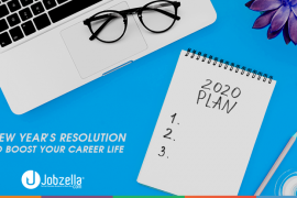 New year's resolution to boost your career