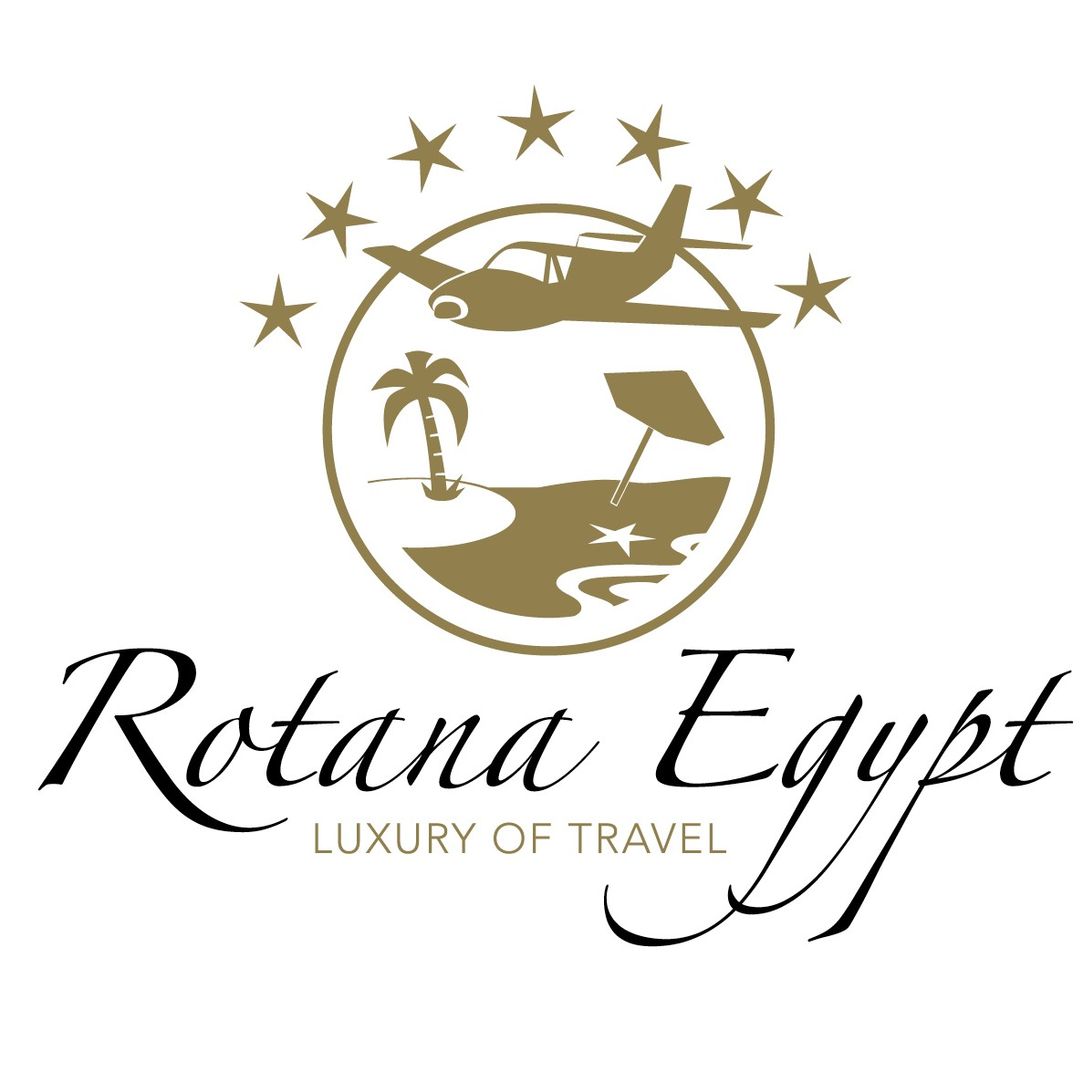 Rotana Egypt Travel's logo