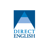 Direct English's logo