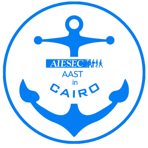AIESEC AAST in Cairo's logo