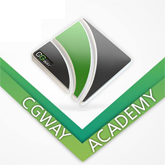 CGWAY Academy's logo