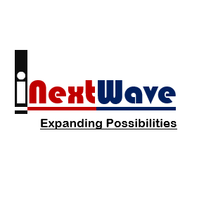 i Next Wave's logo