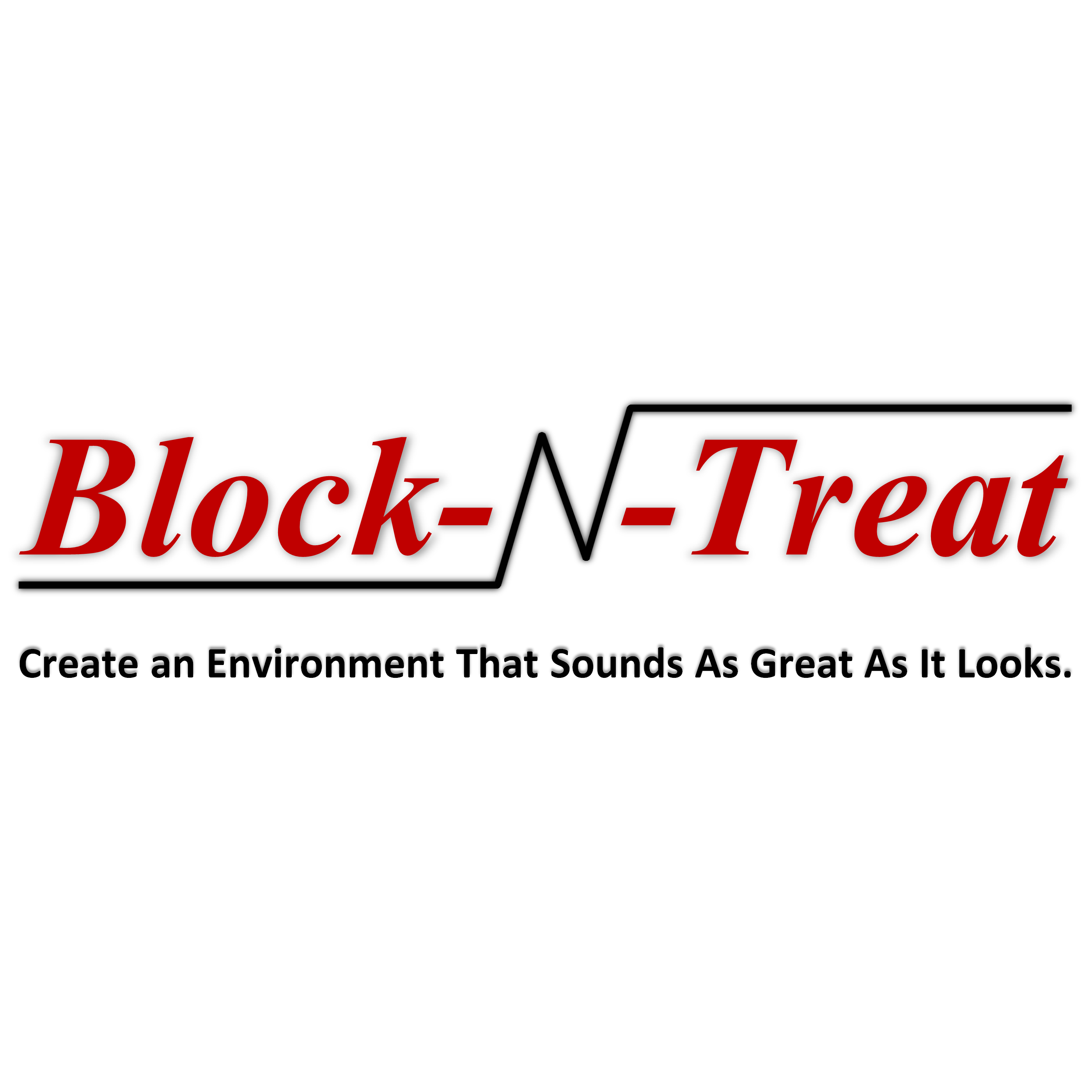 Block-N-Treat's logo