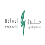 Holoul e-waste recycling's logo