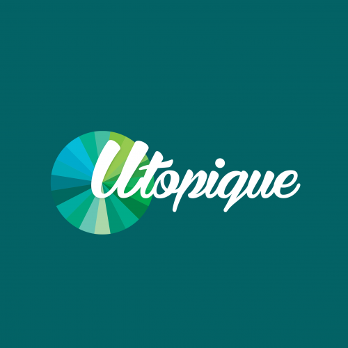 Utopique Media's logo