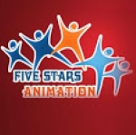 Five Stars Animation Company's logo