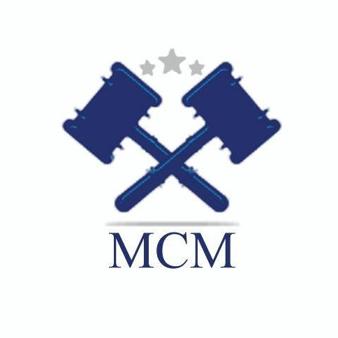 Moot Court Model - Cairo University '' MCM '''s logo