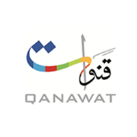 Qanawat Media Middle East 's logo