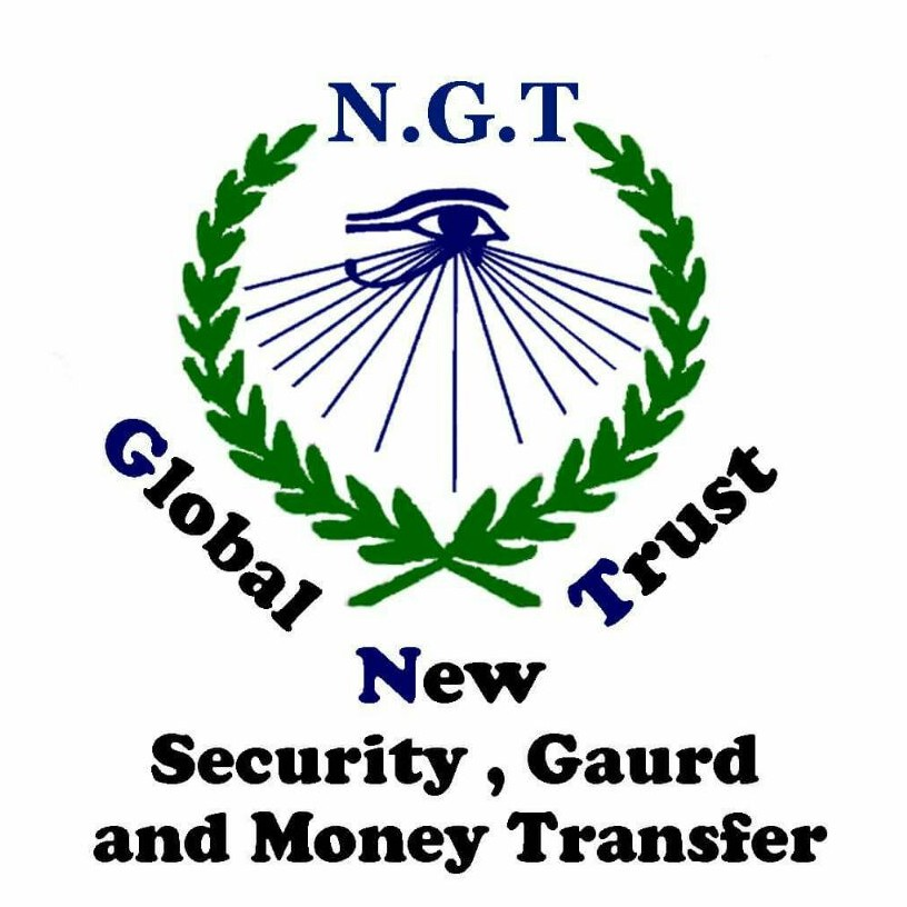 New Global Trust for Security , Gaurd and Money Transfer's logo