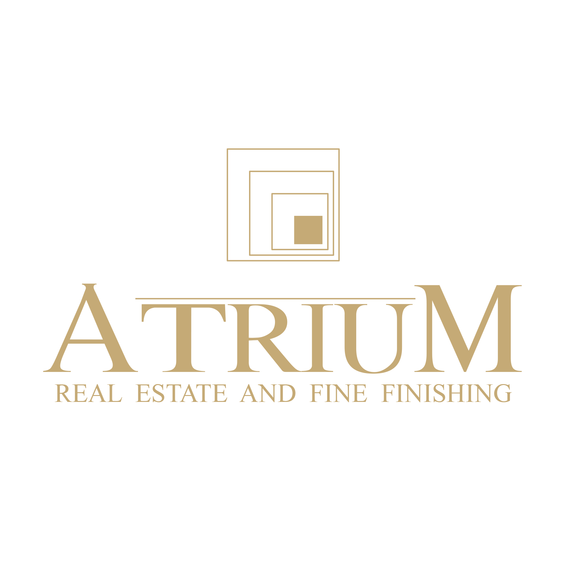 Atrium Group for real estate and fine finishing's logo