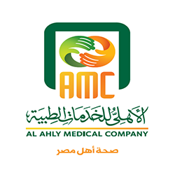 Ahly Medical Company 's logo
