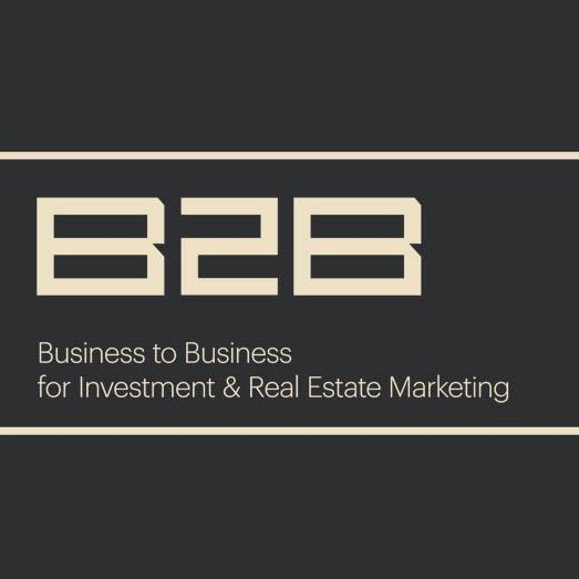 B2B - Business to Business for Investment & Real Estate Marketing's logo