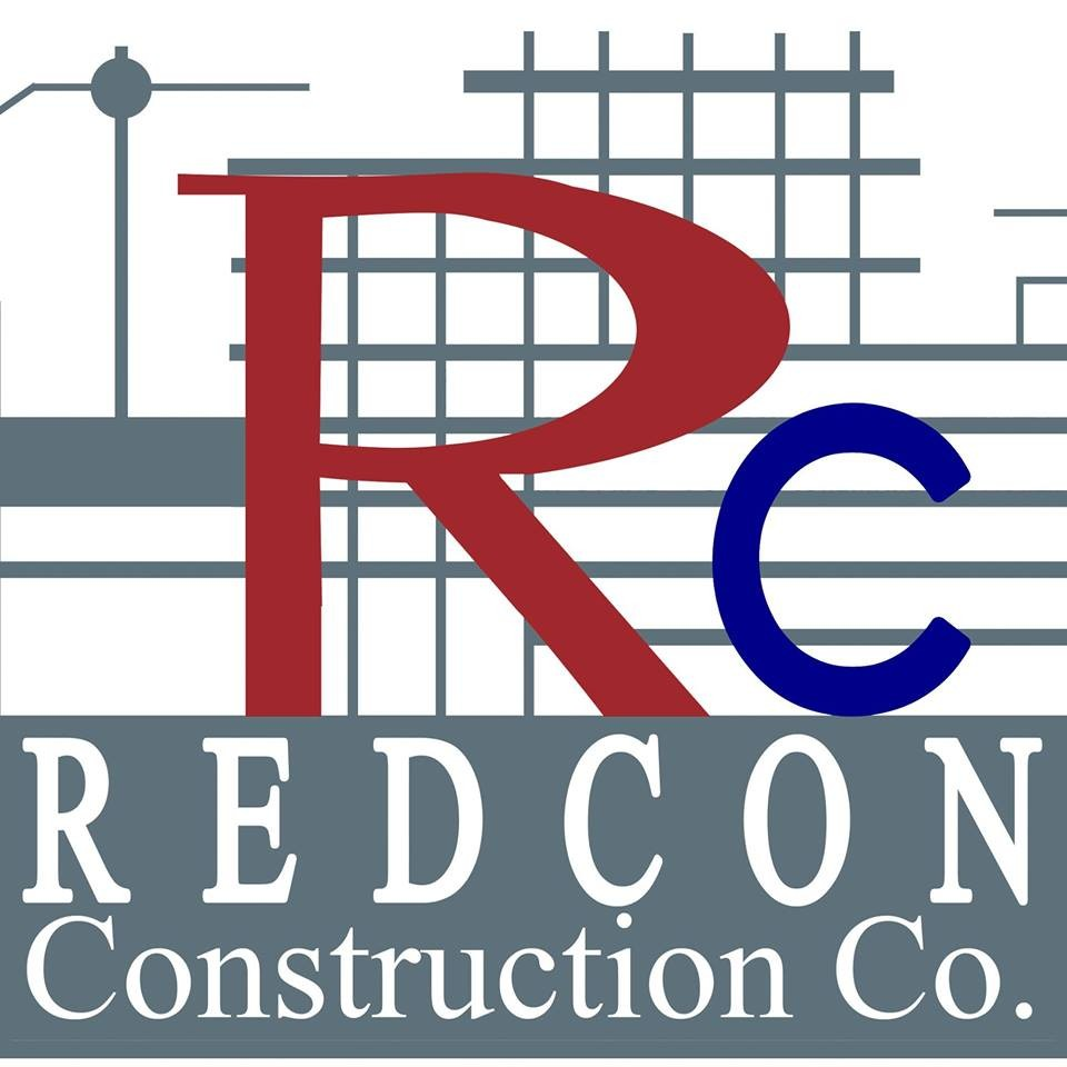 Redcon construction's logo