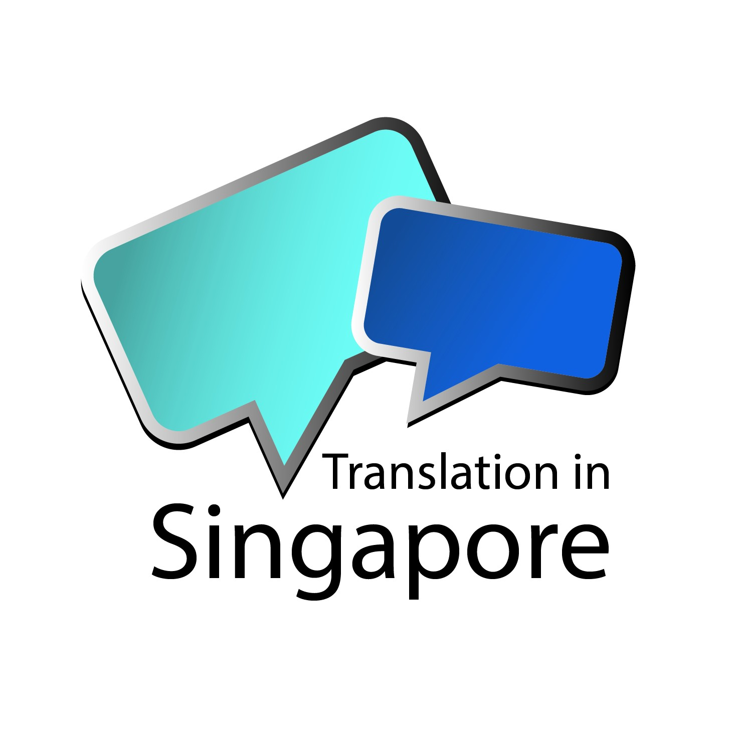 Translation in Singapore's logo