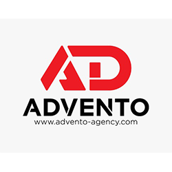 Advento Advertising Agency 's logo