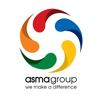 Asma Group's logo